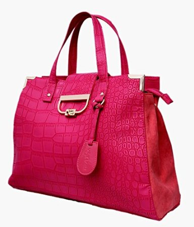 oriflame pink glamour fashion bag diagnol view
