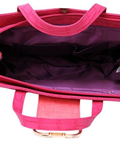oriflame pink glamour fashion bag inside