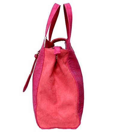 oriflame pink glamour fashion bag side view