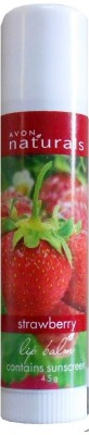 Avon Herbal Strawberry Lip Balm strawberry flavor for urbanmadam