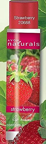 Avon Herbal Strawberry Lip Balm strawberry flavor for urbanmadam_1