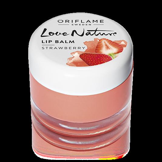 Love Nature Lip Balm - Strawberry by Oriflame - UrbanMadam