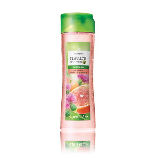 Nature Secrets Shampoo Anti-Dandruff with Burdock & Grapefruit by oriflame for urbanmadam