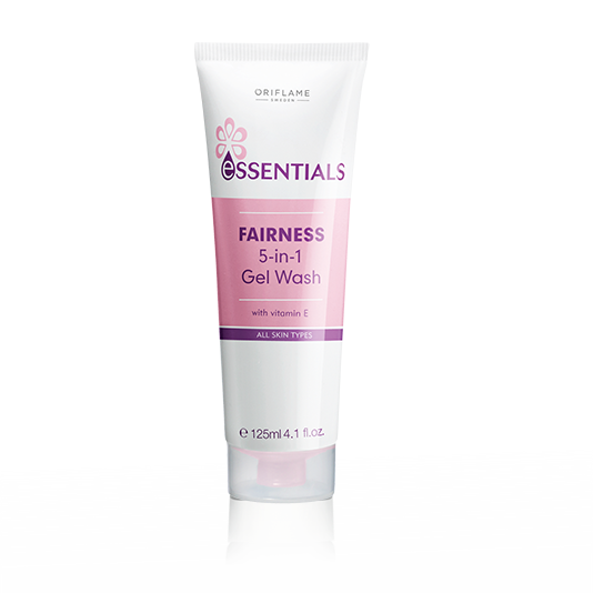 Essentials Fairness 5-in-1 Gel Wash