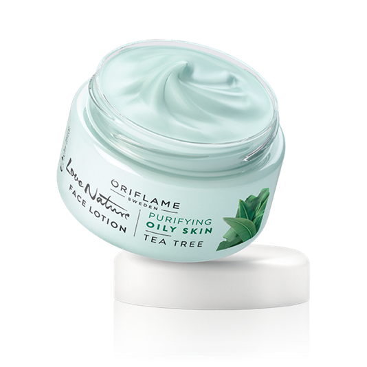 Oriflame Love Nature Face Lotion Tea Tree