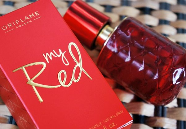 my red perfume by oriflame