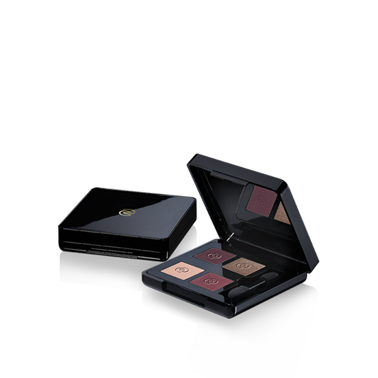 Oriflame Giordani Gold Eye Shadow Quad Colour Radiant Plum