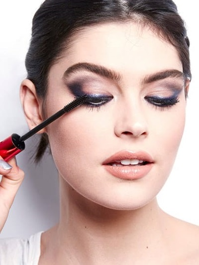 smokey eyes with oriflame