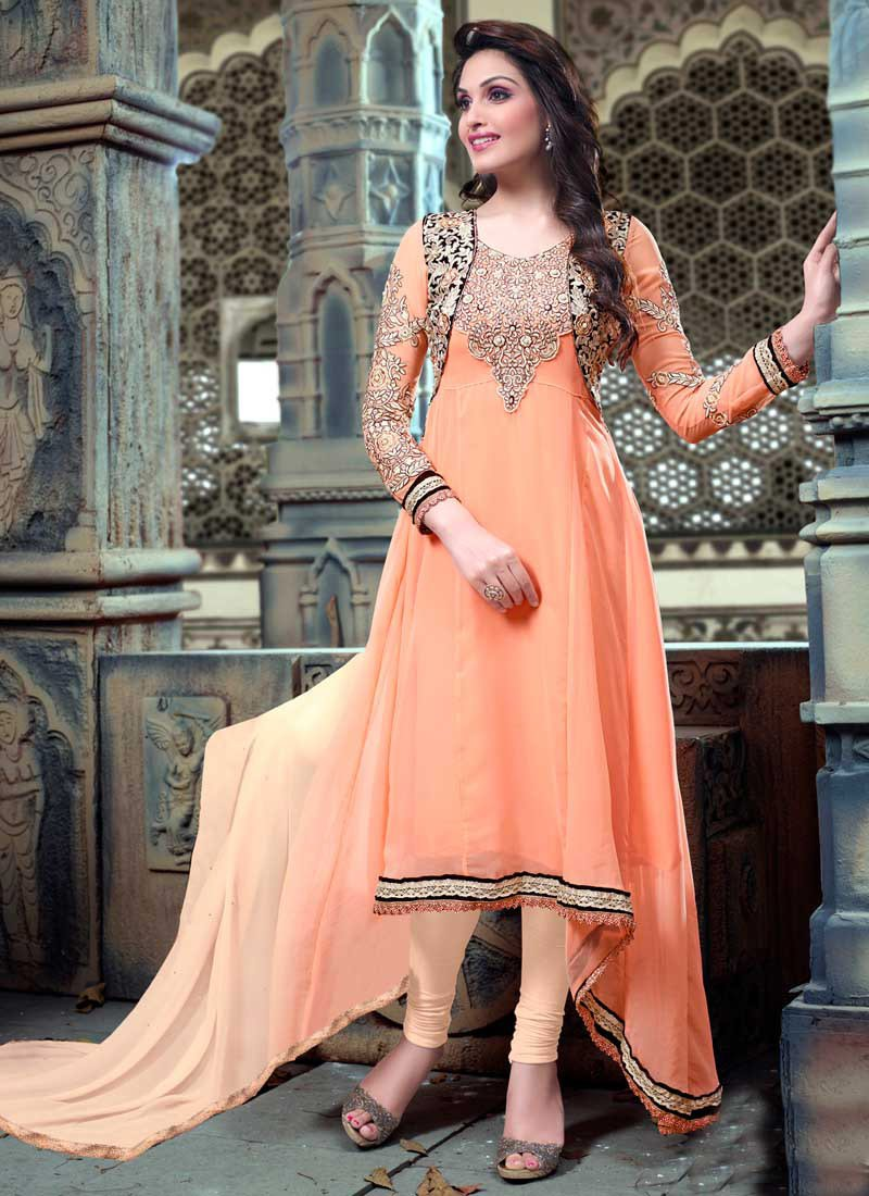look slim in indian ethnic wear fabric
