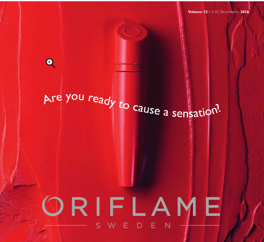 Oriflame December 2016 Catalogue